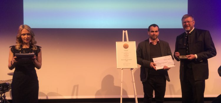 Ondřej Strnadel získal Bavorskou státní cenu 2018 za výjimečný počin!!